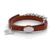 Nomination PARADISO Leather Angel Bracelet