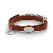 Nomination PARADISO Leather Wings bracelet