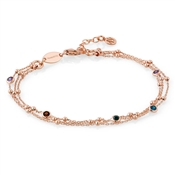 Nomination Bella Rose Gold Rich Bracelet