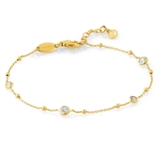 Nomination Bella Gold CZ Bracelet