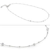 Nomination Bella Silver CZ Necklace
