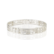 August Woods Frosted Geometric Bracelet