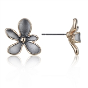 August Woods Rose Gold Trio Flower Studs