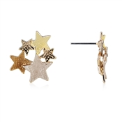 August Woods Outlet  Rose Gold Trio Star Earrings