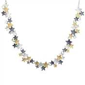 August Woods Trio Star Necklace