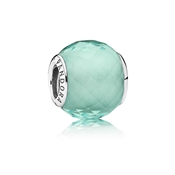 PANDORA Green Petite Faceted Charm