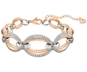 Swarovski Circlet Mixed Metal Bracelet