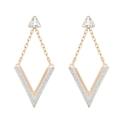 Swarovski Delta Rose Gold Earrings
