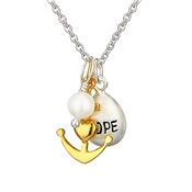 Argento Outlet Hope Cluster Necklace