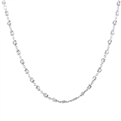 Argento Silver Knots Necklace