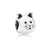 Curious Cat Charm by Pandora