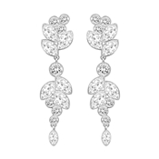 Swarovski Diapsaon Crystal Earrings