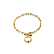 Storie Gold T-bar Bracelet Carrier