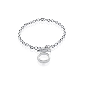 Storie Silver T-bar Bracelet Carrier