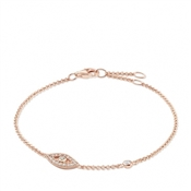 Thomas Sabo Rose Gold Nazar's Eye Bracelet