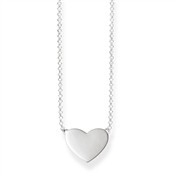 Thomas Sabo Silver Heart Necklace