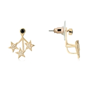 Dirty Ruby Outlet Rose Gold Star Ear Jackets