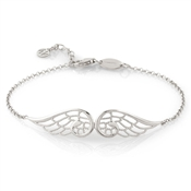 Nomination Angel Silver Double Wing Bracelet