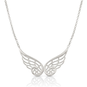 Nomination Angel Silver Double Wing Necklace