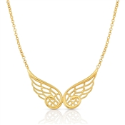Nomination Angel Gold Double Wing Necklace