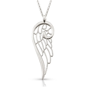 Nomination Angel Large Silver Single Wing Necklace