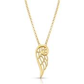 Nomination Angel Gold Single Wing Necklace