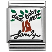 Nomination BIG Family Tree Charm