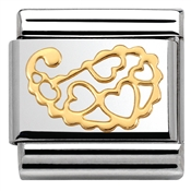 Nomination Cashmere Hearts Charm