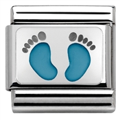 Nomination Baby Boy Footprints Charm