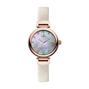 Vivienne Westwood White & Rose Gold Hampton Watch