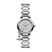 Vivienne Westwood Silver Mother of Pearl Orb Watch