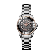 Vivienne Westwood Silver & Rose Gold Sloane II Watch