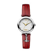 Vivienne Westwood White & Red Trafalgar Watch