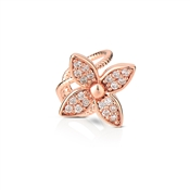 Dirty Ruby Outlet Rose Gold Flower Ear Cuff