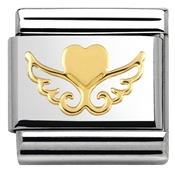 Nomination Heart On Wings Charm