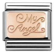 Nomination Rose Gold My Angel Charm