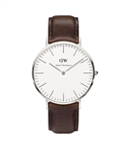 Daniel Wellington Bristol 40mm Silver Watch