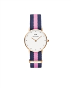 Daniel Wellington Winchester  26mm Rose Gold Nato Watch