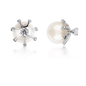 August Woods Outlet  Pearl & Crystal Stud Earrings