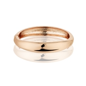 August Woods Rose Gold Simple Bangle