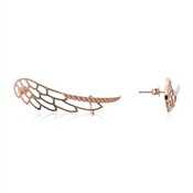 Dirty Ruby Outlet Rose Gold Single Wing Ear Cuff
