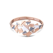 August Woods Rose Gold Abstract Bracelet