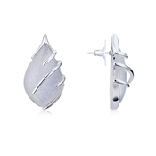 August Woods Moonstone Teardrop Stud Earrings