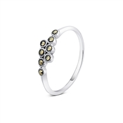 Argento Outlet Marcasite Ring