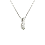 Argento Silver Interlinked Necklace