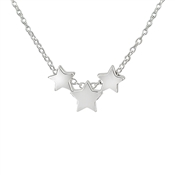 Argento Three Stars Necklace
