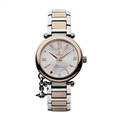 Vivienne Westwood Rose Gold Steel Orb Watch