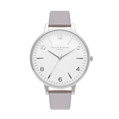 Olivia Burton Modern Vintage White Dial, Grey, Lilac and Silver
