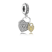 PANDORA Love Locks Pendant Charm