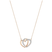 Swarovski Dear Rose Gold Crystal Necklace